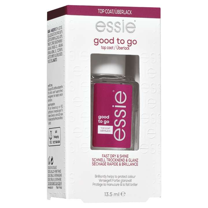 Good To Go Top Coat - Séchage Rapide & Brillance
