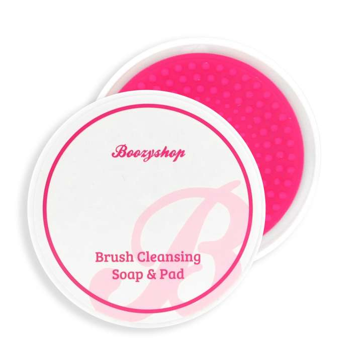 Pinsel & Make-Up Schwamm Reiniger - Brush Cleansing Soap & Pad
