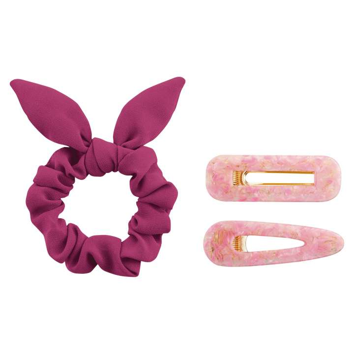 Haargummi & Haarlips - #pinkandproud UNSTOPPABLE Scrunchie & Hairclips