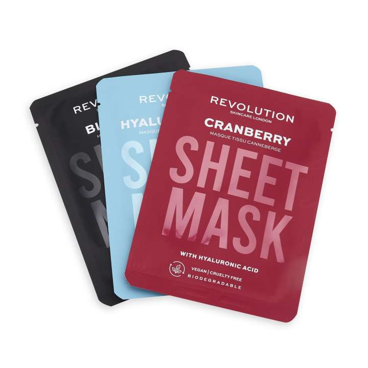 Face Mask Set - Dehydrated Skin Sheet Mask (3 Pieces)