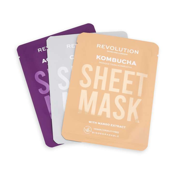 Set Masques de Beauté - Combination Skin Sheet Mask (3 Pièces)