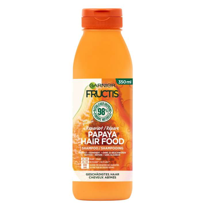 Fructis - Papaya Hair Food Shampoo