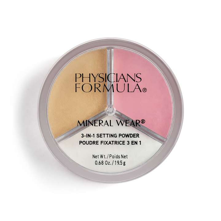 Poudre - Mineral Wear 3-in-1 Setting Powder
