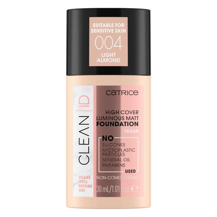 Clean ID High Cover Luminous Matt Foundation