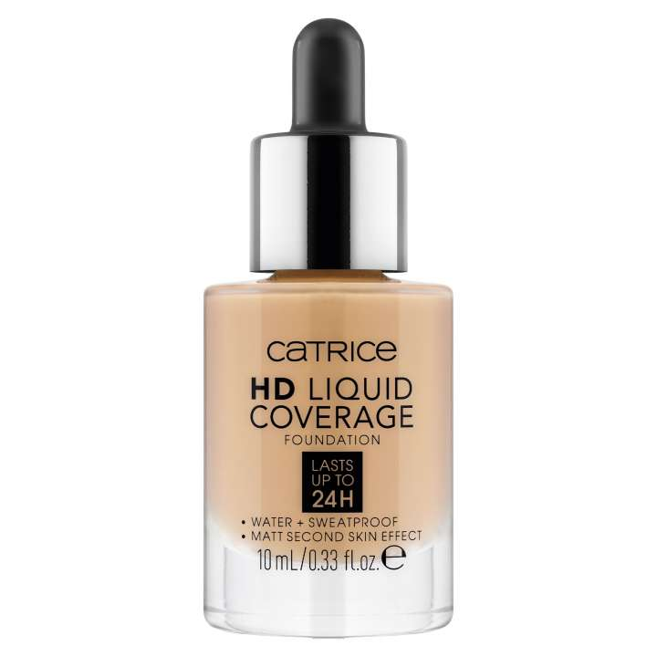 Mini HD Liquid Coverage Foundation