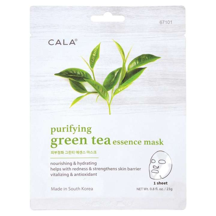 Gesichtsmaske - Purifying Green Tea Essence Mask (5 Stück)