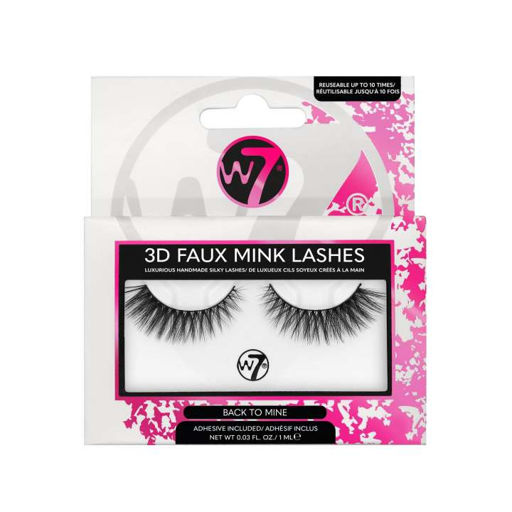 False Eyelashes - 3D Faux Mink Lashes - Back To Mine
