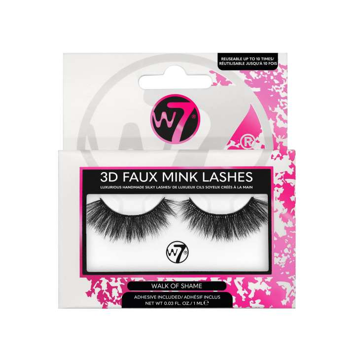 False Eyelashes - 3D Faux Mink Lashes - Walk Of Shame