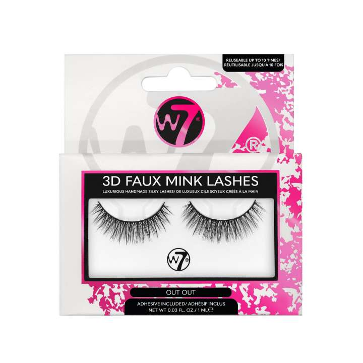 False Eyelashes - 3D Faux Mink Lashes - Out Out