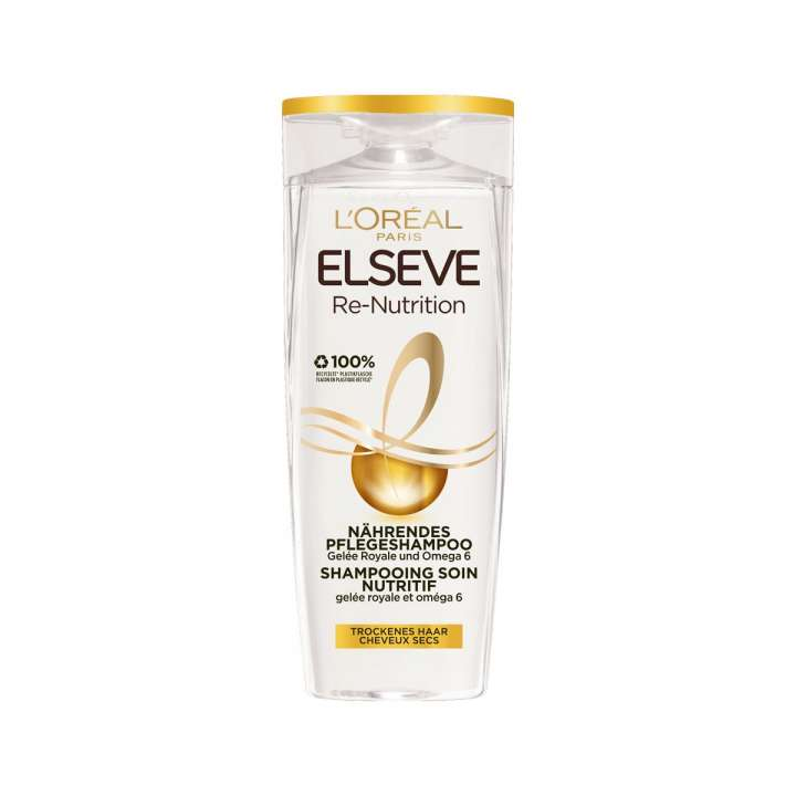 Elseve - Re-Nutrition Shampooing Soin Nutritif