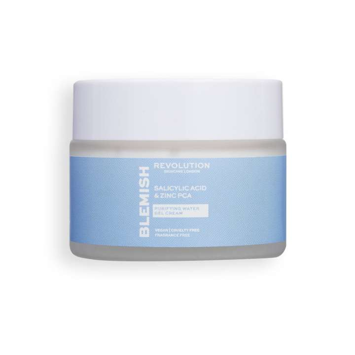 Gesichts Gel-Creme - Salicylic Acid & Zinc PCA - Purifying Water Gel Cream