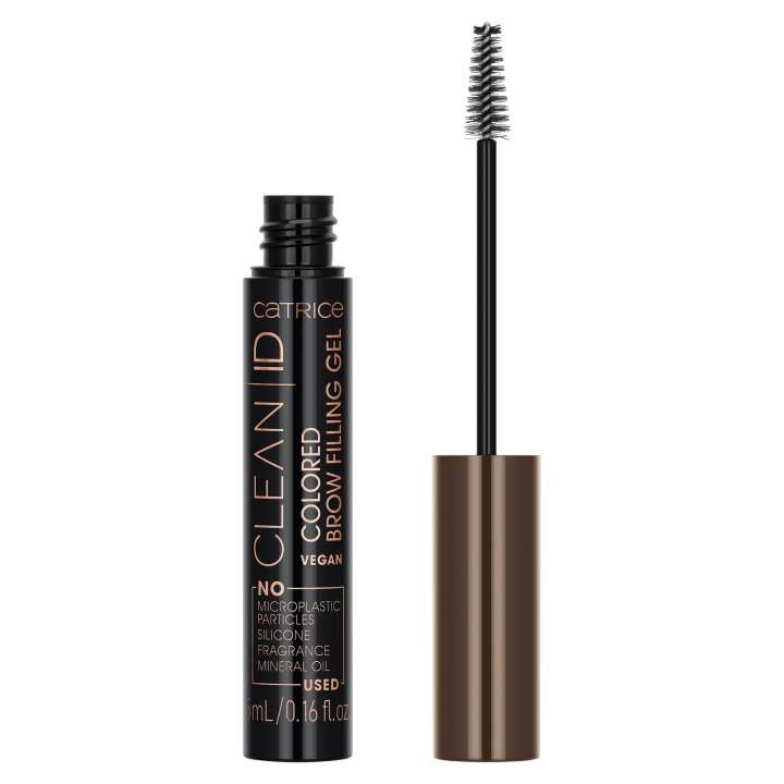 Augenbrauen-Mascara - Clean ID Colored Brow Filling Mascara