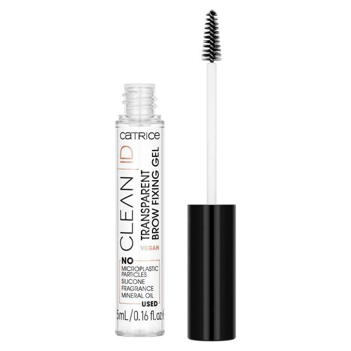 Augenbrauen-Gel - Clean ID Transparent Brow Fixing Gel