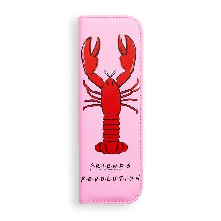 3-Teiliges Pinsel-Set - Makeup Revolution X Friends - Lobster Brush Set