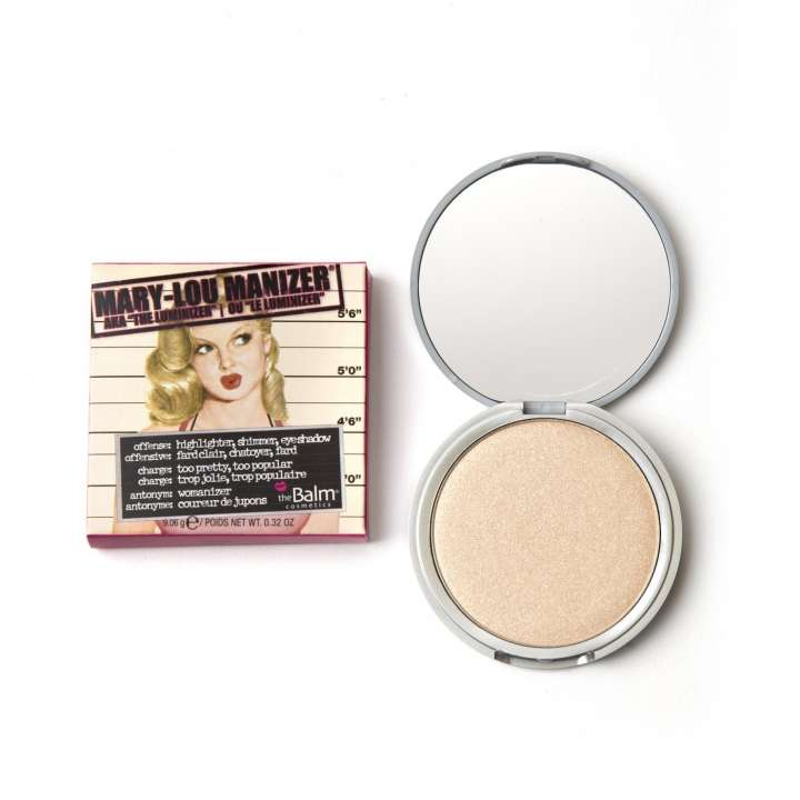 Highlighter & Lidschatten - Mary-Lou Manizer