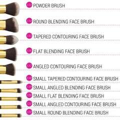 10-Teiliges Pinsel-Set - Sculpt And Blend Brush Set