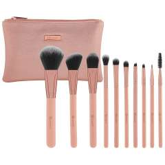 10-Teiliges Pinsel-Set - Pretty In Pink