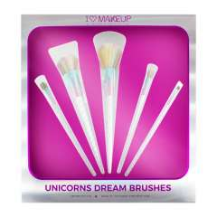5-Teiliges Pinsel-Set - Unicorns Dream Brush Set