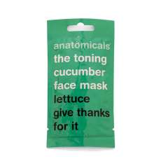 Gesichtsmaske - The Toning Cucumber Face Mask - Lettuce Give Thanks For It